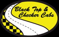 Black Top & Check Cabs Logo